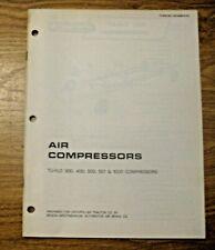 Vintage 1974 Caterpillar Air Compressors Manual Construction Mining Road Work