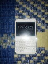 samsung galaxy pro gt b7510 libre blanco telefono solo con bateria