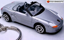 HTF KEYCHAIN 96~2004 SILVER PORSCHE BOXSTER S GT GTS (986) NEW LIMITED EDITION R