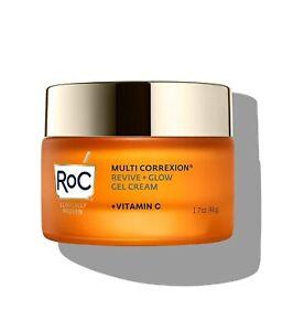 Roc Vitamin C Revive + Glow Gel Cream Moisturiser 50ml Brand new