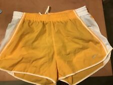 EUC Nike Pacer Running Shorts Women Yellow & White Size Medium M similar 2 Tempo