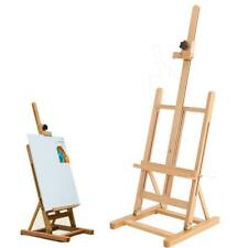 Art Craft Supplies Artist Wood Tabletop Adjustable H-Frame Studio Easel Painting