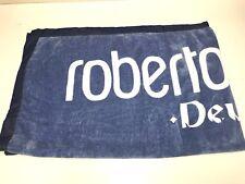 Roberto Cavalli New LARGE LOGO COTTON BEACH TOWEL w DRAWSTRING BAG RTL $135 Q142