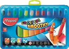 COLOR'PEPS SMOOTHY CRAYONS HANG PACK (12) - BRILL PRODUCT RRP £8.99!! + FREE P&P