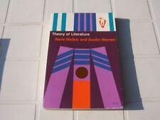 Rene Wellek and Austin Warren Theory of Literature