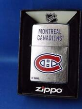 ZIPPO LIGHTER MONTREAL CANADIENS NHL HOCKEY NEW FAN GIFT BOX  2017 DESIGN