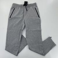 CSG Mens Precision Pant Gray Sz Medium Ankle Zip Jogger Drawstring NWT