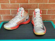 Nike Hyperdunk+ Sport Pack Size 10.5 Platinum Bright Crimson 524948-002