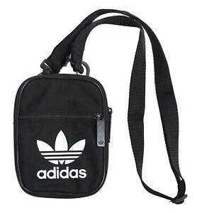 Adidas Trefoil Festival Bags Messenger Black Running Bag Cross GYM Sack BK6730