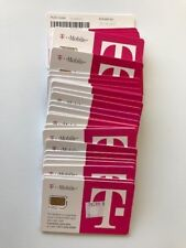 T-mobile Micro Sim card - Expiration 2017 - For project