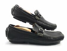 Clarks England Men's Black Driving Moccasin Bit Loafers Shoes Sz 7.5 M