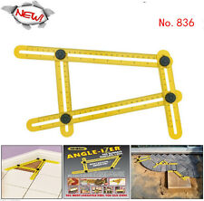 New TGR Angle izer Multi-Angle Ruler Template Tool 836 General Measuring Tools