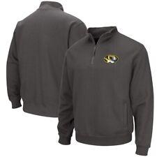 Ncaa Champion Missouri Tigers Boys Long Sleeve Synthetic 1/4 Zip Jacket Sm, NWT