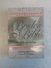 CATHOLIC BRIDE'S BIBLE with WEDDING MEMORY PAGES New American 1991 in BOX