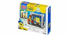 Spongebob Mega Bloks Photo Booth Time Machine Construction Toys Kit set play fun
