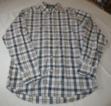 Mens Tommy Hilfiger S Heritage Poplin long sleeve button up shirt casual EUC@