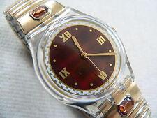 1997 Swatch Watch Standard Reve D' Automne GK257 Flex Metal band New