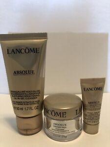 Absolue Premium Bx, Cleanser, Oleo Serum Travel Sizes