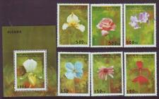 GUINEA REPUBLIC 1995 FLOWERS & ORCHIDS MINT NEVERHINGED SET 6 plus MINISHEET