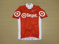Castelli Cycling Jersey Mens ~ Medium ~ Great Cond Biking Full Zip Target Print