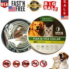 New listing Dewel Cheaper than Seresto! Flea Tick Collar for Medium Large Dog Cat 8 Month