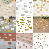 Wedding Table Confetti - Paper or Wooden Scatters Sprinkles - BUY 3 GET 1 FREE