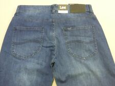 078 MENS NWT LEE L2 COOPER SLIM LEG BLUE STRETCH DENIM JEANS SZE 30 $170 RRP.