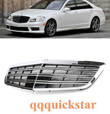 AMG Grille For 08-13 Mercedes Benz W221 S-Class Front Bumper Hood - Chrome US
