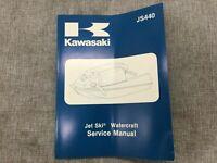Kawasaki JS440 Jet Ski Watercraft Service Manual 1982 - 1983 OEM 99963-0054-02