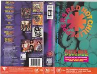 RED HOT CHILLI PEPPERS POSITIVE MENTAL OCTOPUS VHS PAL~ A RARE FIND