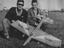 """Model Airplane Plans (UC): """"Jay Dee"""" Falcon 52"""" Stunt for .35 Engine"""