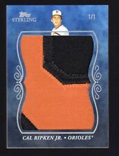 2008 Topps Sterling Cal Ripken Jr. Super Jumbo Patch #1/1