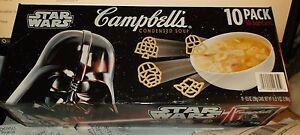 VTG 2017 Disney Star Wars Campbell's Chicken Soup Limited Edit 10 Pk Darth Vader