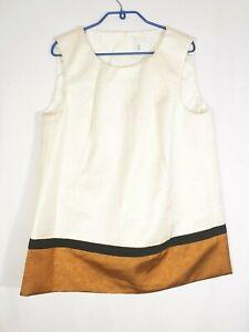 Marina Rinaldi by Max Mara Top Shirt Vest Tank Size 21_US 12W_IT 50_UK 16_S-M