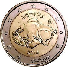 Pièce 2 euros commémorative ESPAGNE 2015 - Grotte d'Altamira - UNC - Neuve