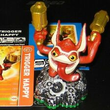 "Skylanders ""TRIGGER HAPPY"" NEW figure+card+code, Spyro's Adventure"