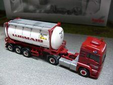1/87 Herpa MAN TGS LX Euro6 Lugmair Tankcontainer-SZ 910828