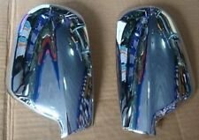 2 FIT FOR PEUGEOT 307 CC SW 407 DOOR SIDE WING MIRROR CHROME COVER REAR VIEW CAP