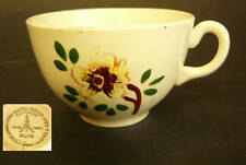 FANTAISIE COFFEE TEA CUP SALINS FRANCE APPLE BLOSSOM
