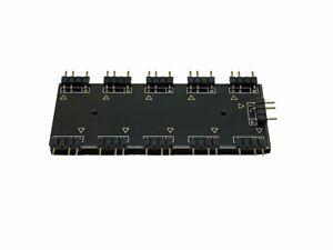 Mizucool 3 PIN 5V 10 Way Motherboard Addressable RGB ARGB Splitter Hub - 322