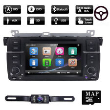 """For BMW E46 M3 320 325 7"""" In Dash Car Radio Stereo DVD Player GPS BT+Cam"""