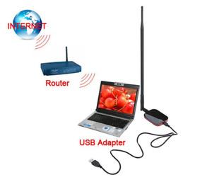 2000mW Wireless Network Card Increase Computer Signal HighPower,USB Wifi Adaptor