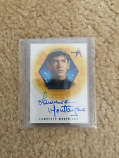 Lawrence Montaigne Signed Autographed as Stonn Amok Time Star Trek TOS