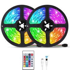 5M Flexible Rgb LED no muy conocida sidra de Luz Control Remoto Luces de Morales Sala Tv Fiesta Bar