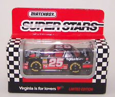 1993 Matchbox White Rose 1:64 Hermie Sadler #25 Virginia is for Lovers Lumina
