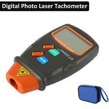 Pro Tachimetro Digitale Contagiri Laser Senza Contatto Tach Range 2.5- 99.995RPM