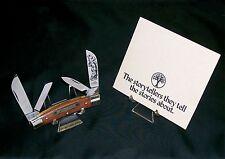 """Boker Storyteller Knife """"Davy Crockett"""" 1983 Limited Edition Full Congress Rare"""