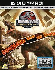 Jurassic Park Adventure Box Set DVDs & Blu-rays