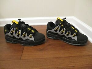 BNIB Size 11 Osiris D3 2001 Shoes Black, Gray, Yellow