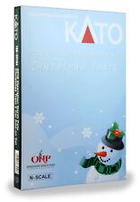 KATO  N SCALE 2016 Operation North Pole Christmas Train 2 Car Set 106-2016A